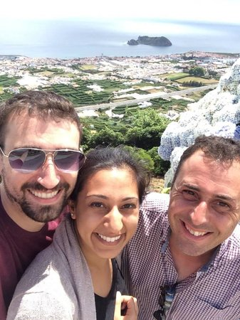 Azorean Tours: Me and the clients on a Great Tour