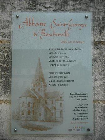 Abbaye Saint Georges de Boscherville : Abbaye