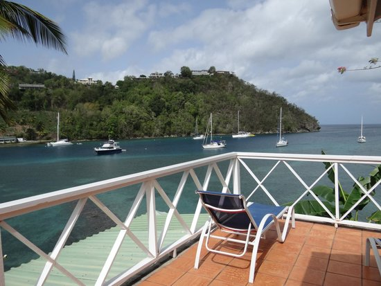 Marigot Beach Club and Dive Resort : view