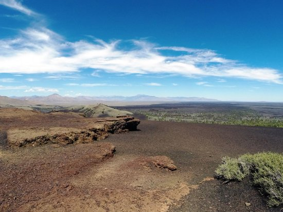 Craters of the Moon National Monument: The View from the Top of the Inferno Cone