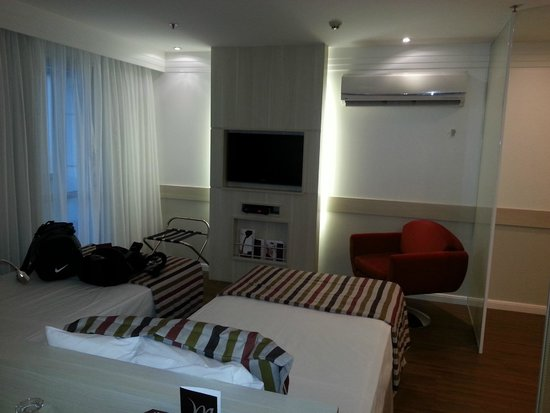 Mercure Apartments Brasilia Lider : vista da bancada
