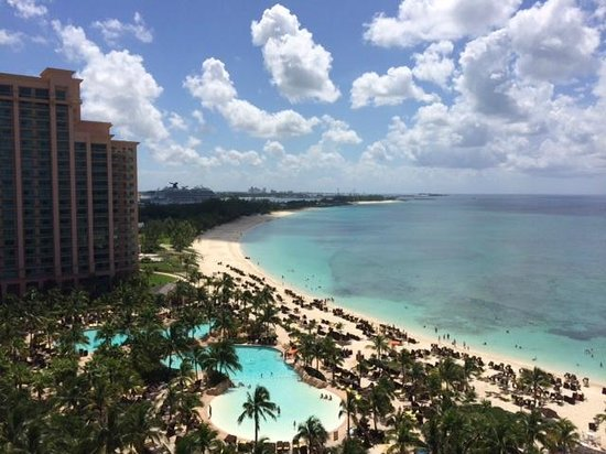 The Cove Atlantis, Autograph Collection: The view of Nassau harbor from our 10th floor room