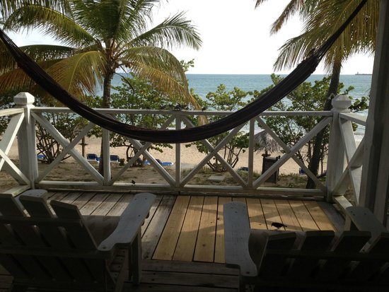 Coconut Beach Club : View from our room/balcony