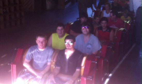 Silver Dollar City: Finally on Outlaw Run