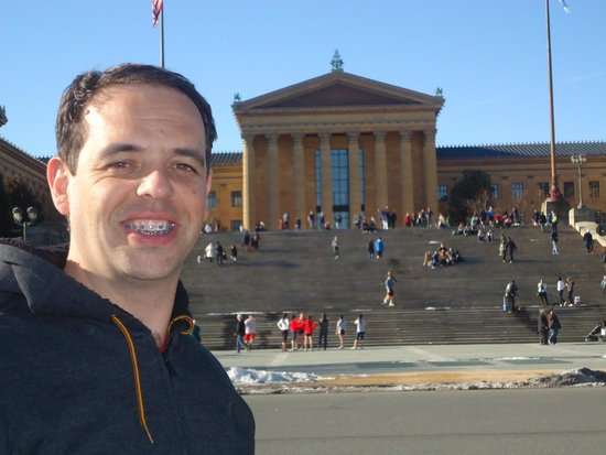 Philadelphia Museum of Art: Frente Escadas Filme Rocky