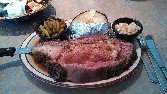 Rock Away Inn: Prime Rib Dinner