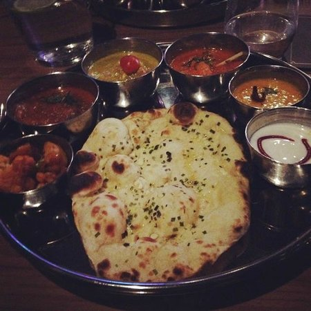 Yukti: Thali - main course after pan-fried starters