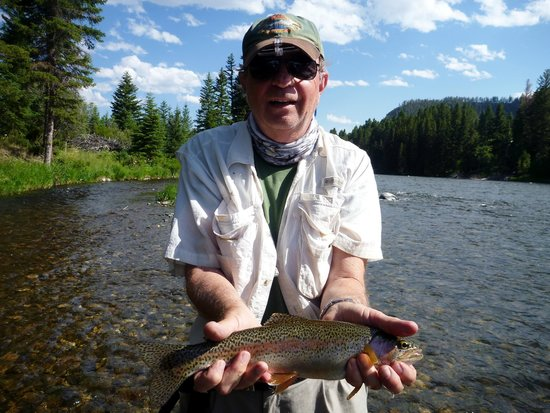 Arrick's Fly Shop and Fly Fishing Tours: Rainbow from the Madison