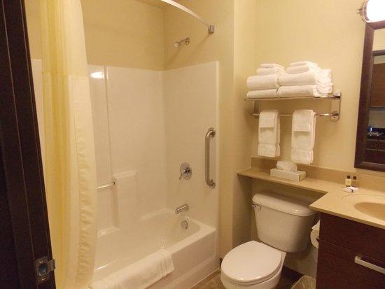 Bathroom Fixtures Billings Mt in room bathroom - picture of my place hotel-billings, mt