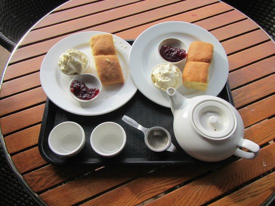Chinese Garden of Friendship : Tea and Scones at the end was nice