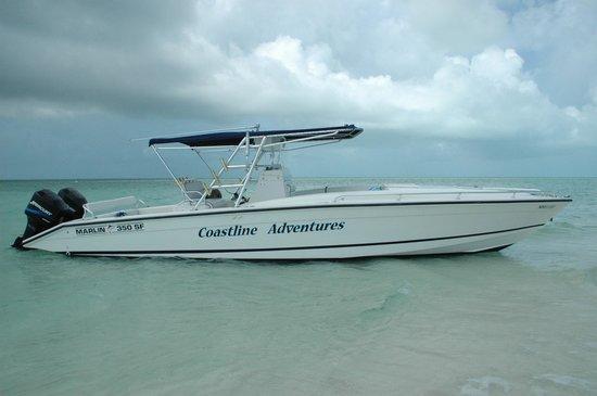 Coastline Adventures Exuma: new vessel