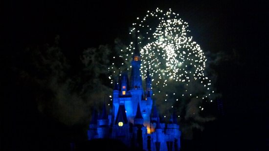 Happily Ever After Fireworks: great show