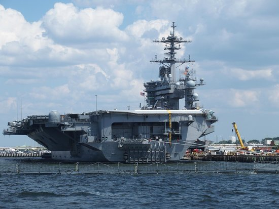 Victory Rover Naval Base Cruises : USS Theodore Roosevelt