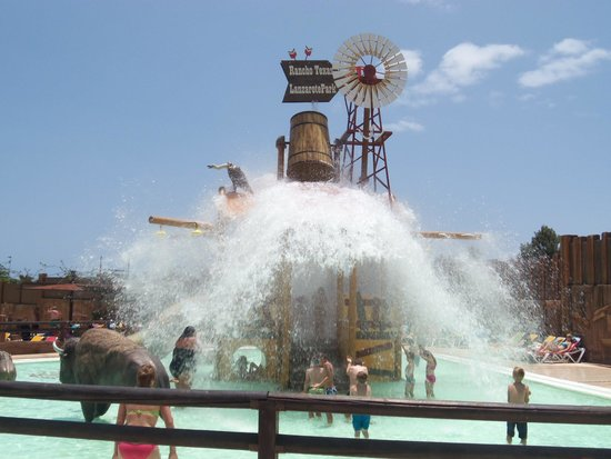 Rancho Texas Lanzarote Park : waterpark
