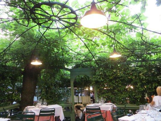 Osteria del Binari : Terrace