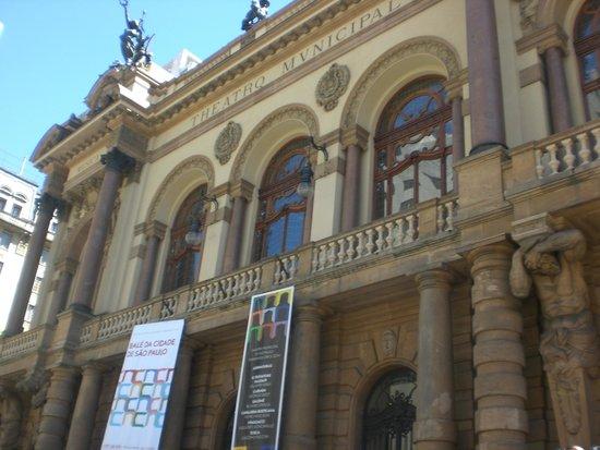 Theatro Municipal De Sao Paulo: Fachada do Teatro Municipal