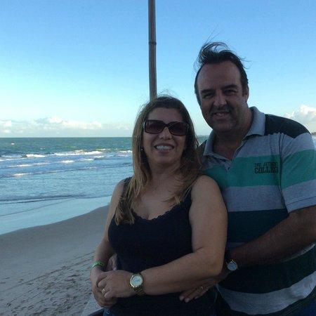 Pontal De Ocapora: No deck do restaurante do hotel