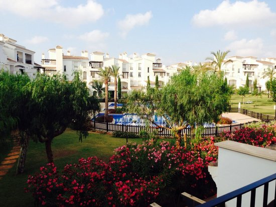 RRP La Torre Golf Resort : What a view to wake up to!! ☀️✈️