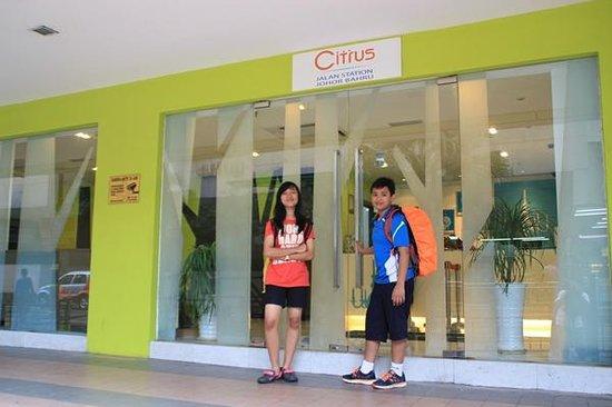 Citrus Hotel Johor Bahru: Pintu Masuk Citrus Hotel