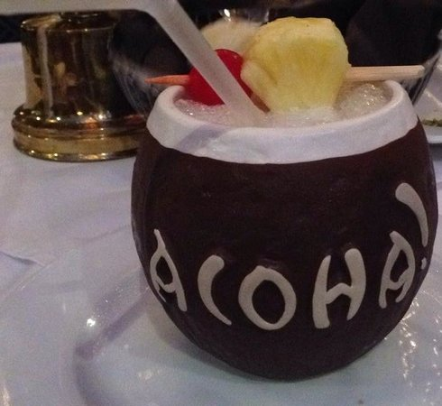 Trader Vic's: Chi Chi Drink in Coconut Cup