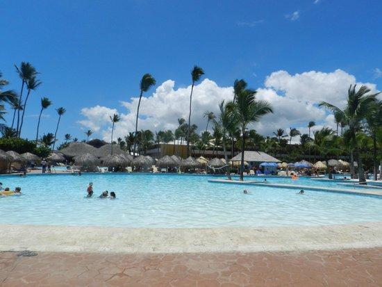 Iberostar Punta Cana: Piscina do Iberostar Dominicana e Punta Cana