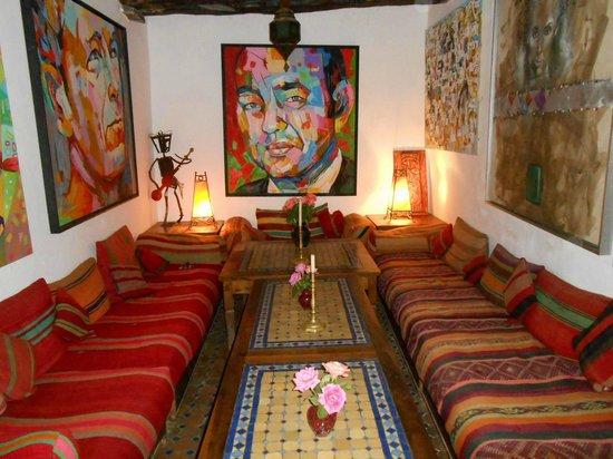 Maison du Sud : Sala de estar