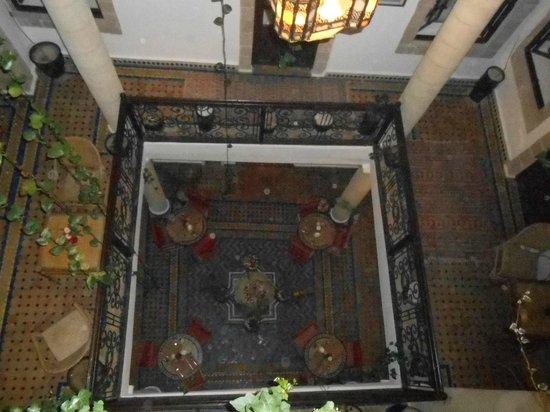 Maison du Sud : Hall visto de cima