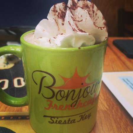 Bonjour French Cafe and Crepes: Chocolat Viennois