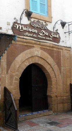 Maison du Sud : Porta de entrada do hotel-riad