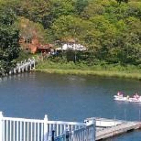 Green Harbor Waterfront Lodging: Back water view2