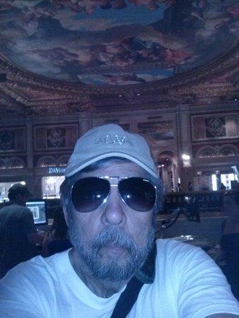 Venetian Resort Hotel Casino: A incrível pintura do teto da entrada principal