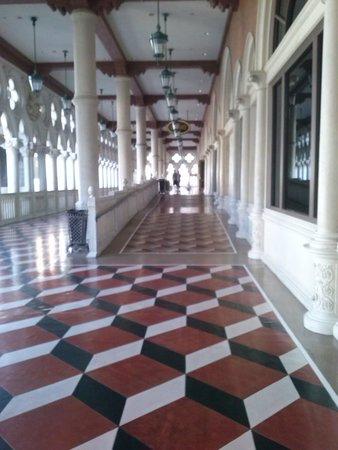 Venetian Resort Hotel Casino: magnífico piso da varanda do Palácio dos Dodges