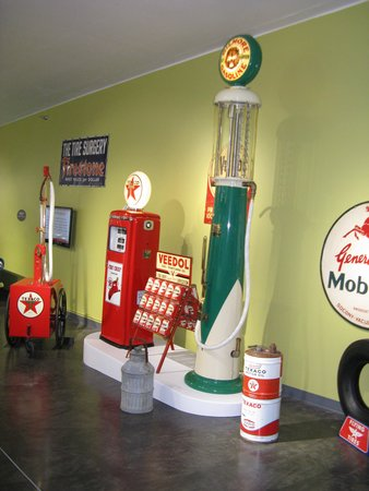 "LeMay - America's Car Museum: in the route  ""66""  display"
