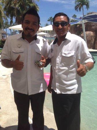 Hard Rock Hotel Vallarta: Bayo and Hector! :)