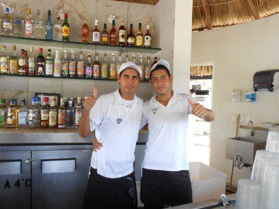 Hard Rock Hotel Vallarta: Narciso and Jonathan!