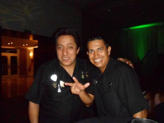 Hard Rock Hotel Vallarta: Rodrigo and Edgar!