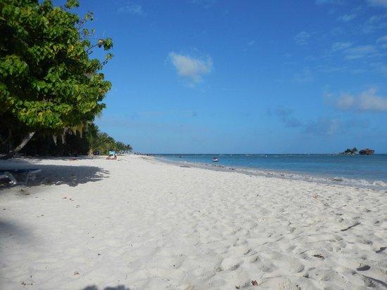 Cocoplum Beach Hotel: Praia de San Luís