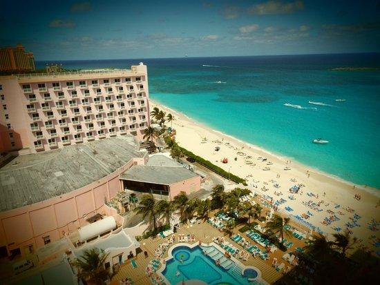 Hotel Riu Palace Paradise Island: Vista desde la habitación