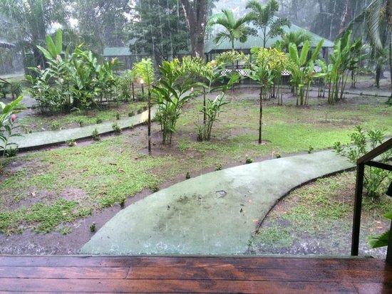 Mawamba Lodge: Rainy Day