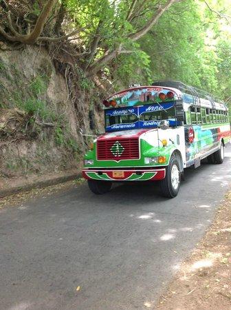 Casa Marimba : Bus to Masaya Craft Market