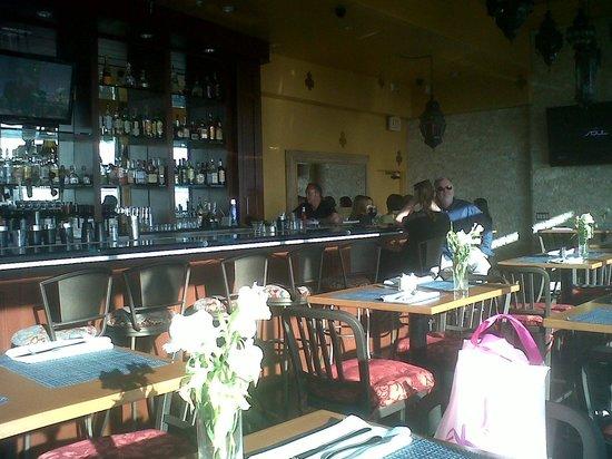 Porto Vista Hotel : la confietria bar