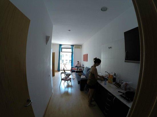 Happy Apartments: A sala