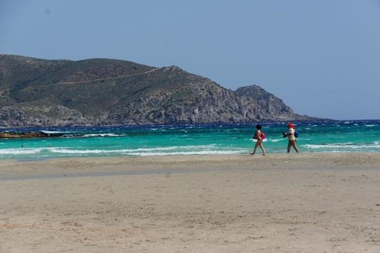 Plage d'Elafonissi : Beautiful turqouise waters!