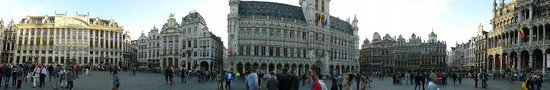 Grand Place/Grote Markt: Panorâmica Grand-Place