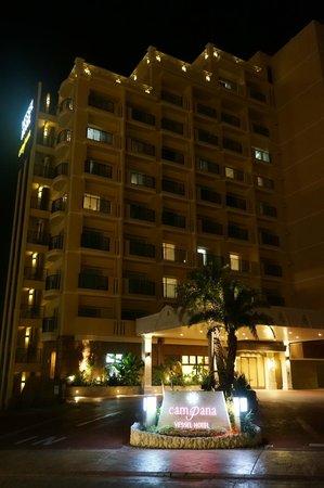 Vessel hotel campana Okinawa: ホテル夜景