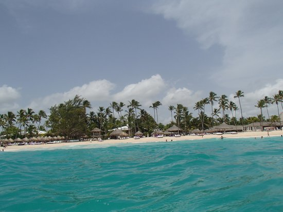 Paradisus Punta Cana: Beach View From ocean