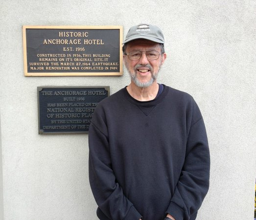 Historic Anchorage Hotel : Historic Marker for hotel