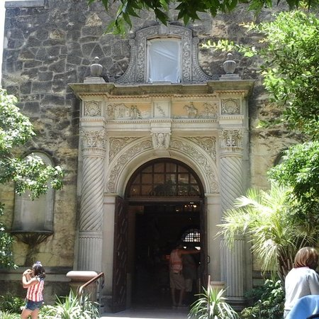 San Antonio River: secondary entrance to the Alamo