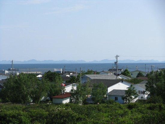 Burin Peninsula Motel: View from the Motel.
