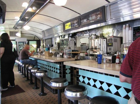 Historic Village Diner: The inside is guaranteed to tickle your nostalgia
